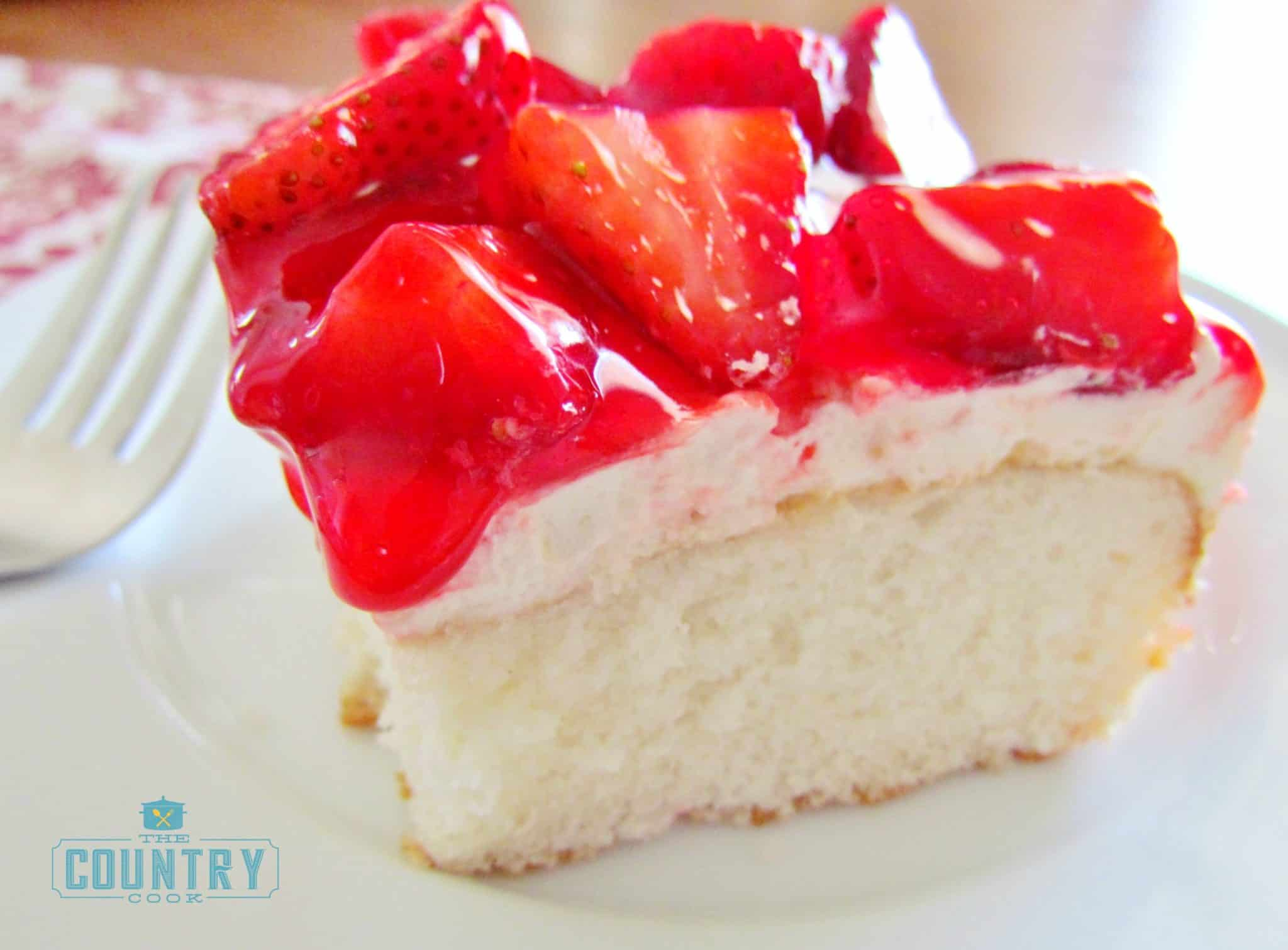 Strawberry Shortcake Box Cake Recipe