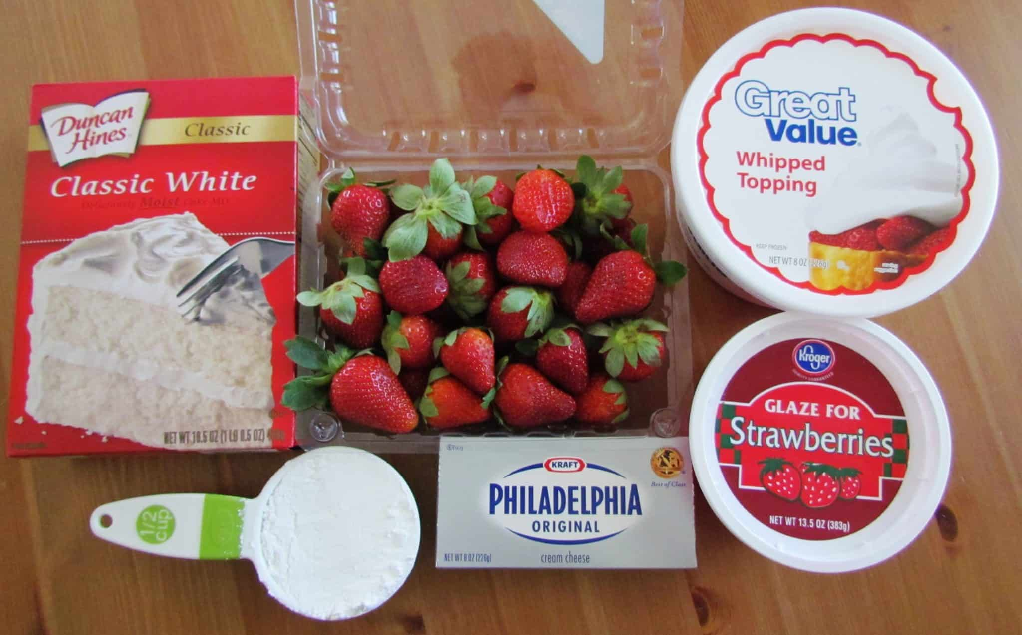 How To Make Strawberry Shortcake With Yellow Cake Mix