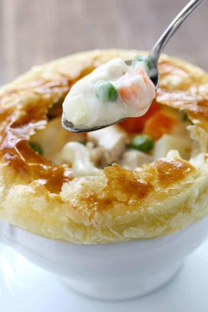 memade Chicken Pot Pie