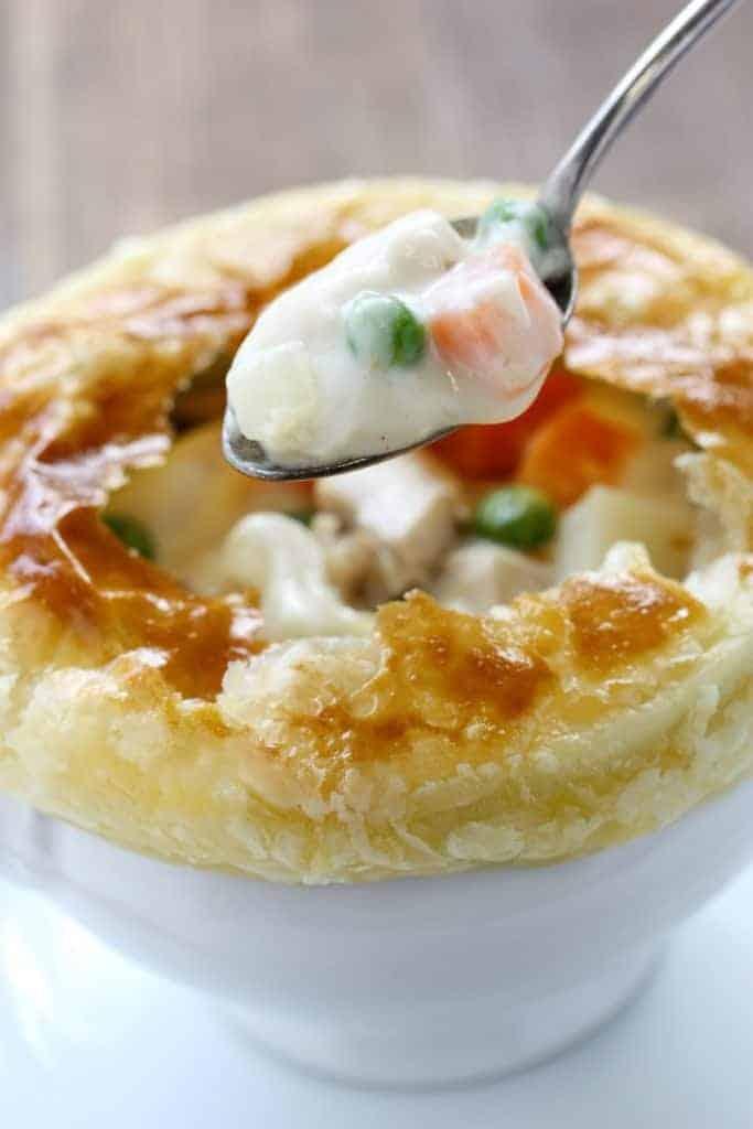 memade Chicken Pot Pie