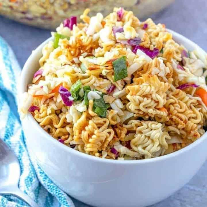 Asian Ramen Salad recipe