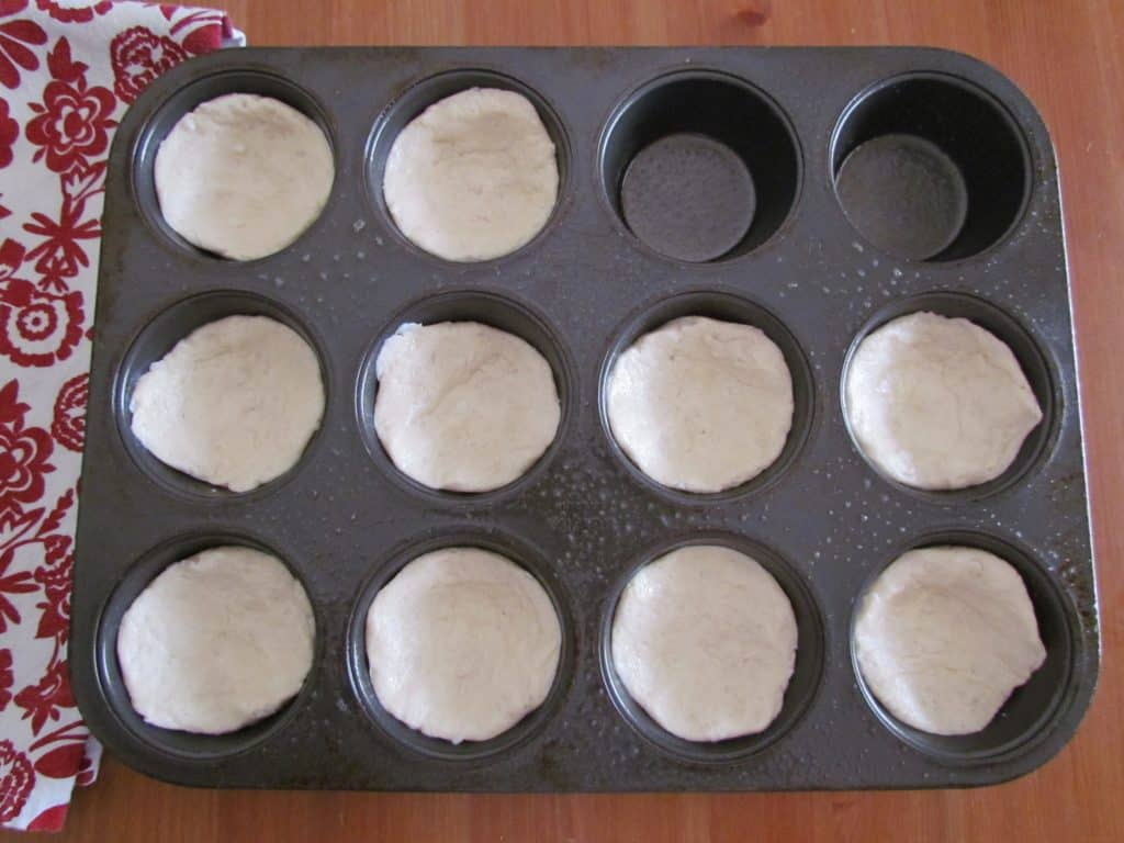 refrigerated biscuits in muffin tin