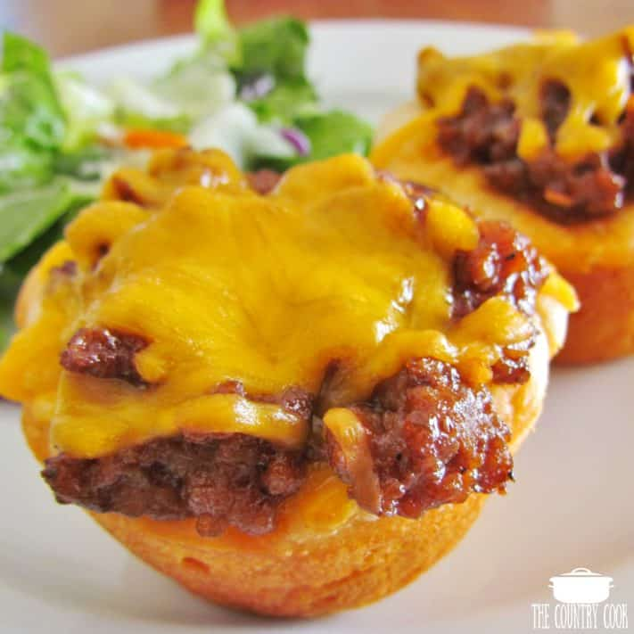 Easy Barbecue Biscuit Cups recipe
