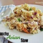 Crunchy Ramen Asian Slaw