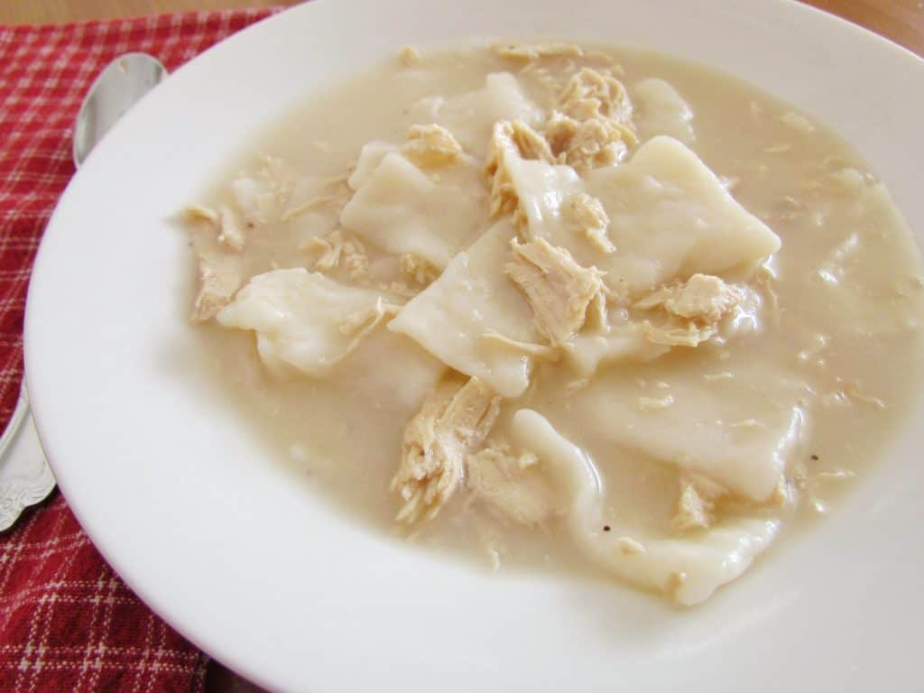 Old Fashioned Chicken and Dumplings recipe from The Country Cook