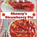 Copycat Shoney's Strawberry Pie