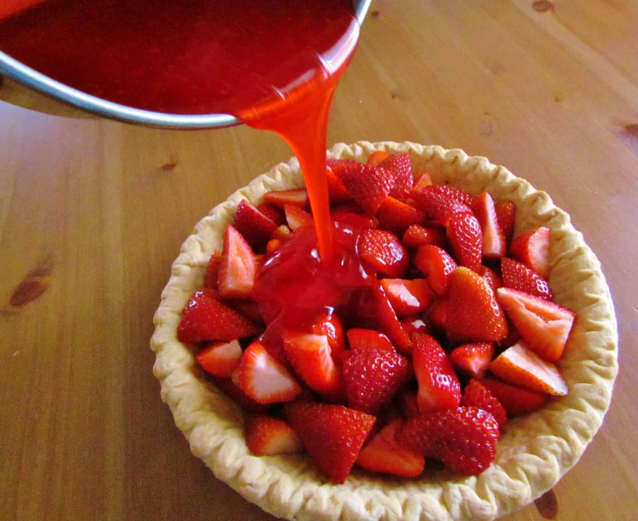 Shoney s Strawberry Pie The Country Cook