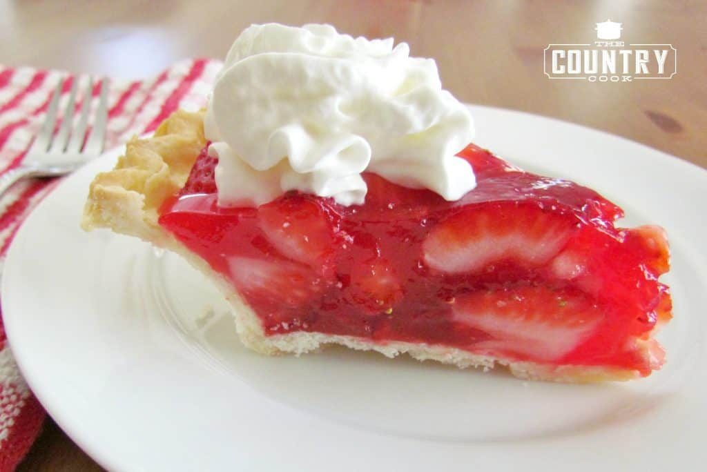 Strawberry Jello Cake Recipe Frozen Strawberries: SHONEY'S STRAWBERRY PIE (+Video)