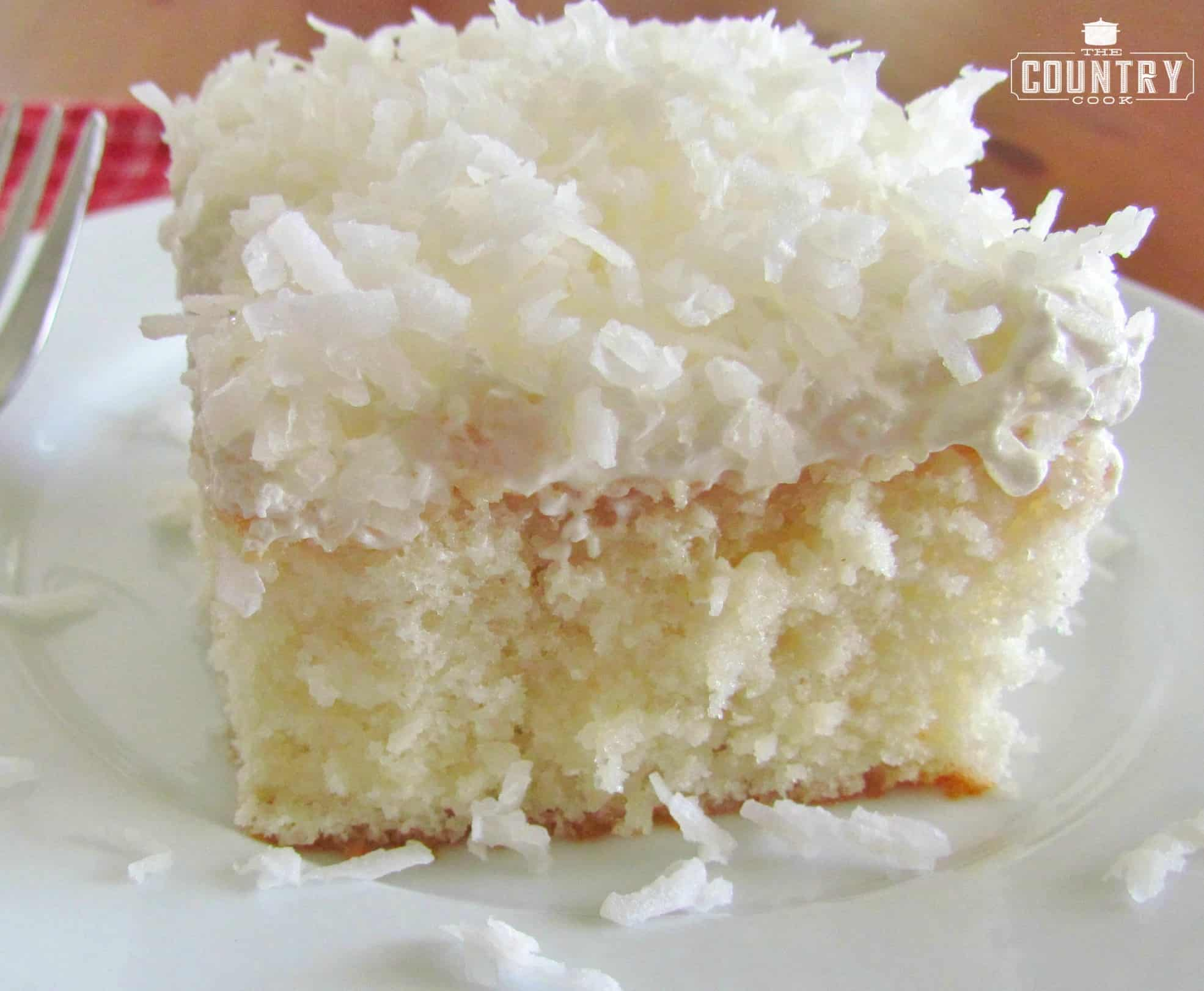 The Best Moist Coconut Cake Recipe