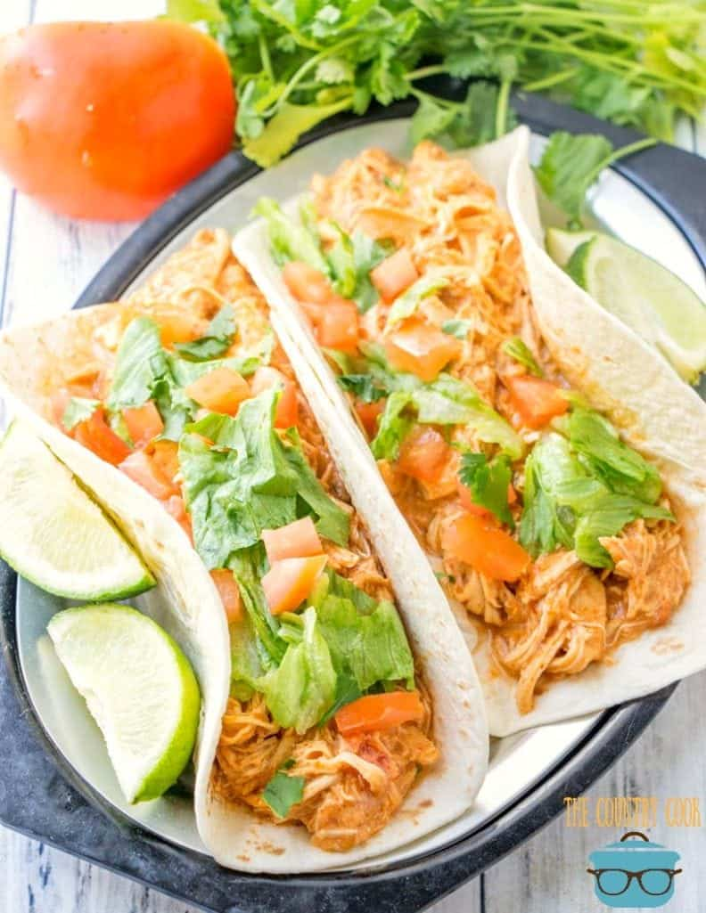 Slow Cooker Salsa Chicken recipe