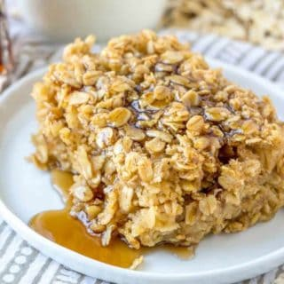 Maple and Brown Sugar Baked Oatmeal recipe