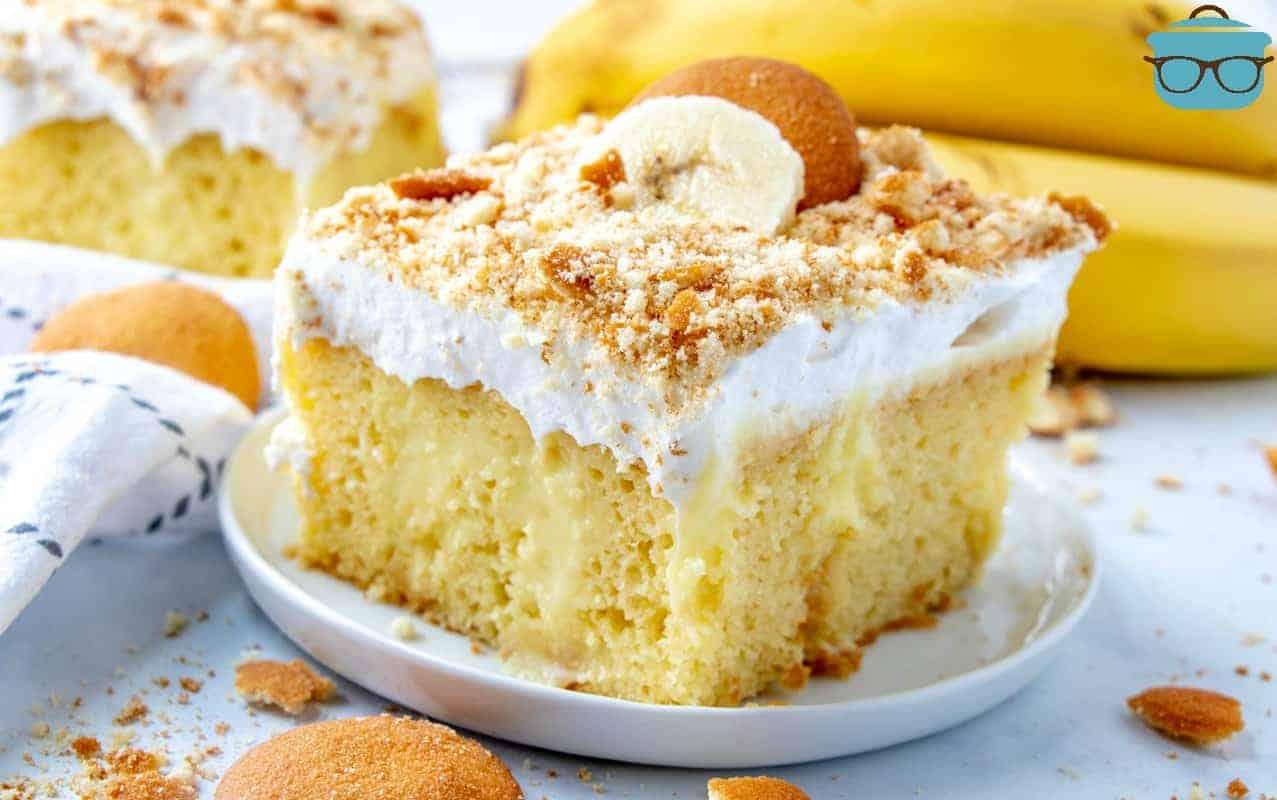 BEST BANANA PUDDING POKE CAKE Video