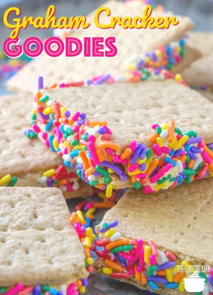 No-Bake Graham Cracker Goodies recipe from The Country Cook
