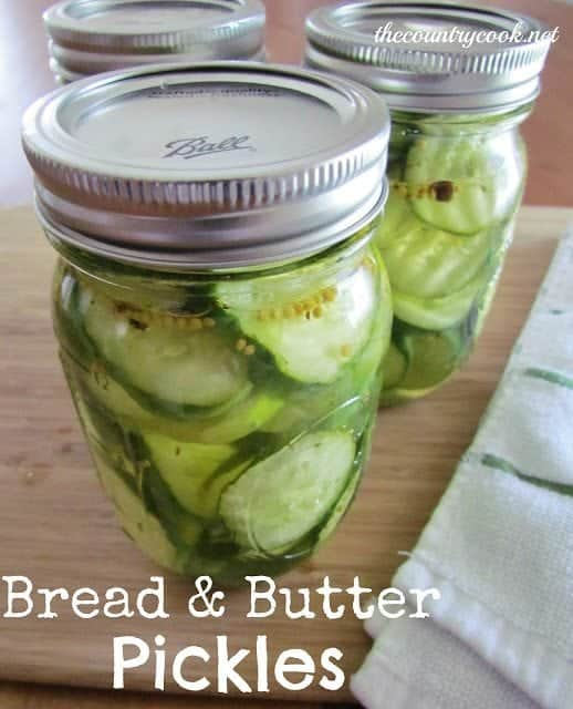Easy Homemade Bread and Butter Pickles recipe