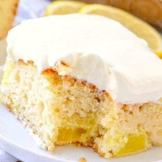 Lemon Dream Cake recipe