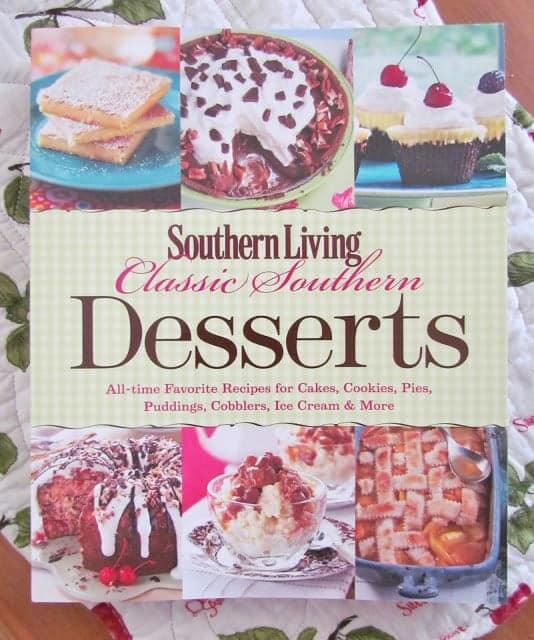 Southern Living Classic Southern Desserts cookbook