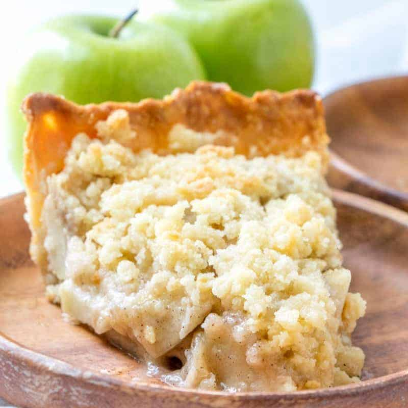 Butter Crumble Apple Pie The Country Cook Dessert