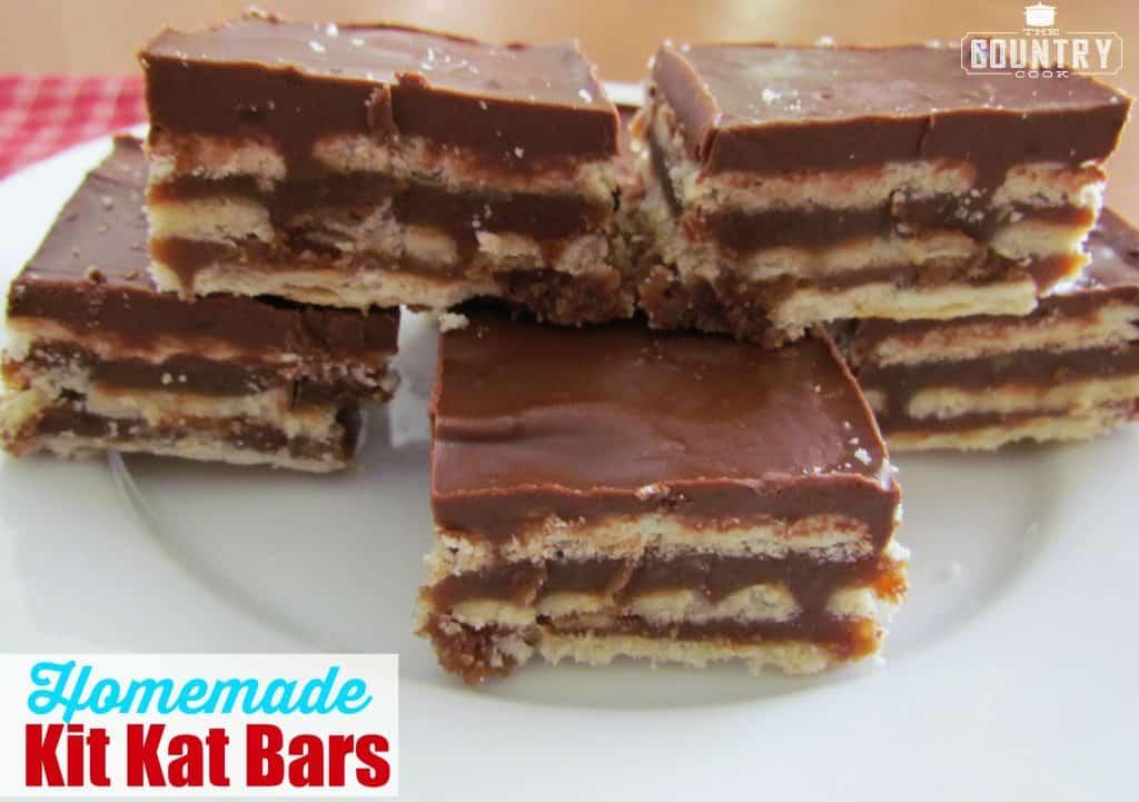 Homemade Kit Kat Bars
