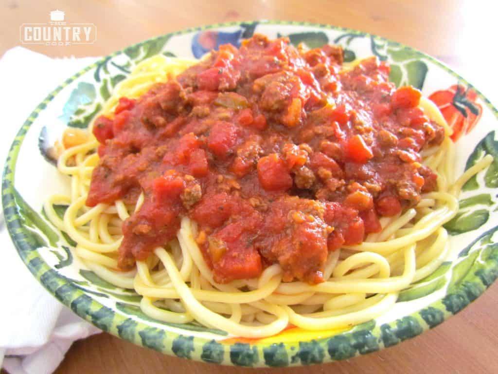 Homemade Beefy Spaghetti Sauce