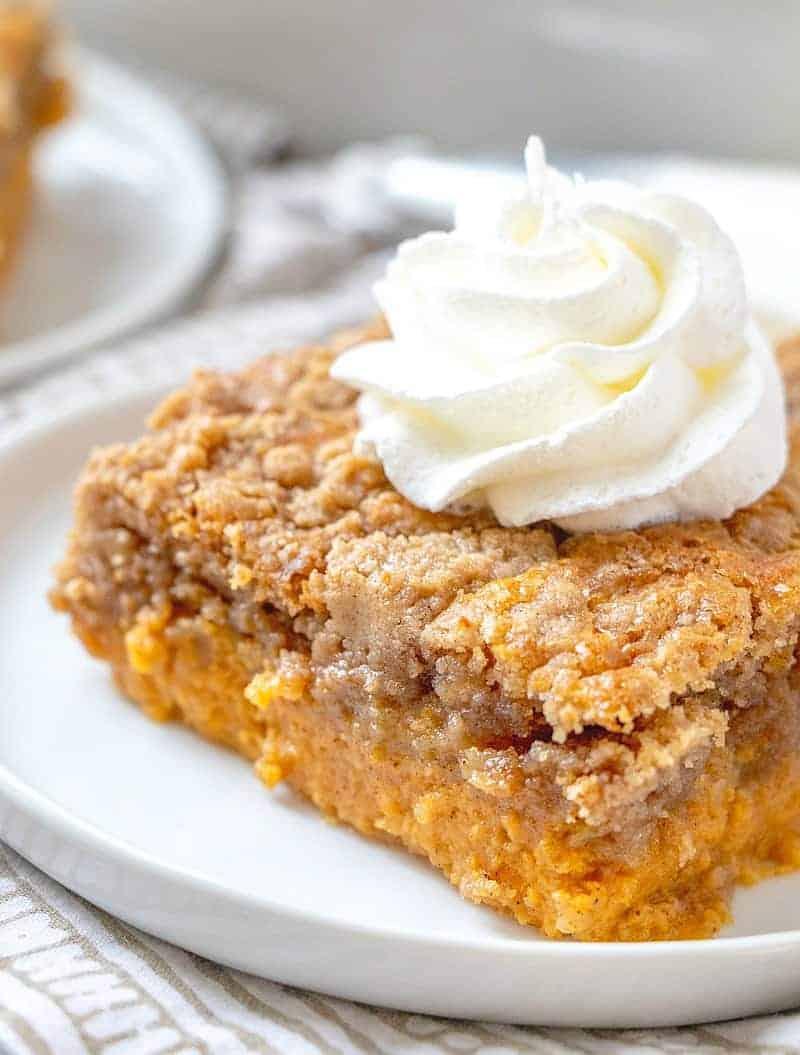 Pumpkin Pie Dump Cake Video The Country Cook Dessert