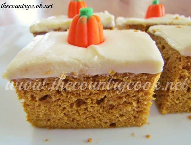 Pumpkin Spice Cake - The Country Cook