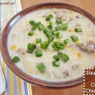Sausage & Corn Chowder