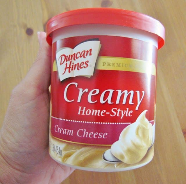 how to store cream cheese frosting
