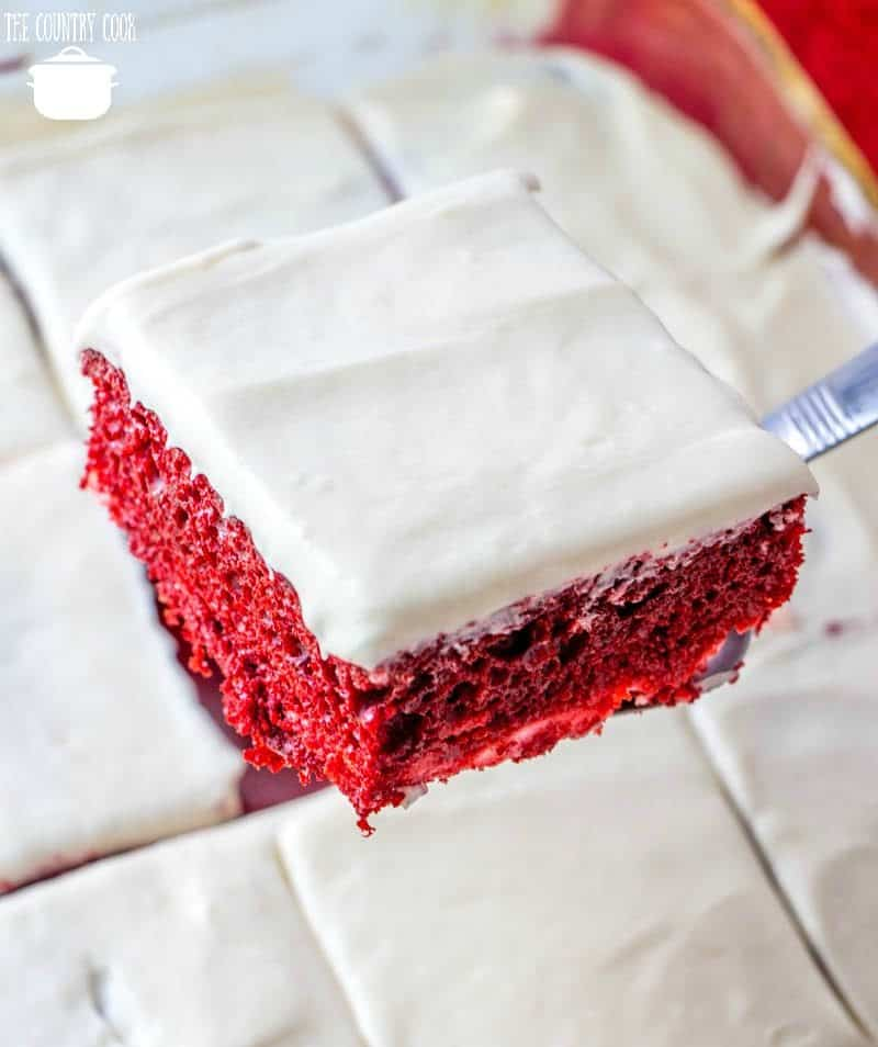 Red Velvet Cheesecake Cake Country Cook