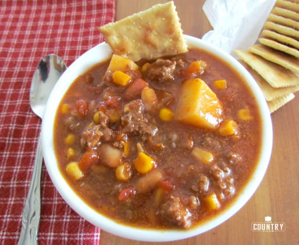 Ground Beef Brunswick Stew