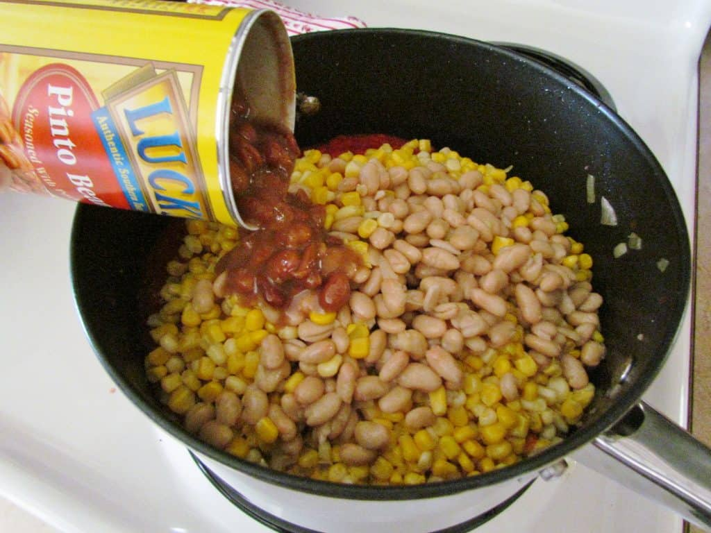 beans and corn