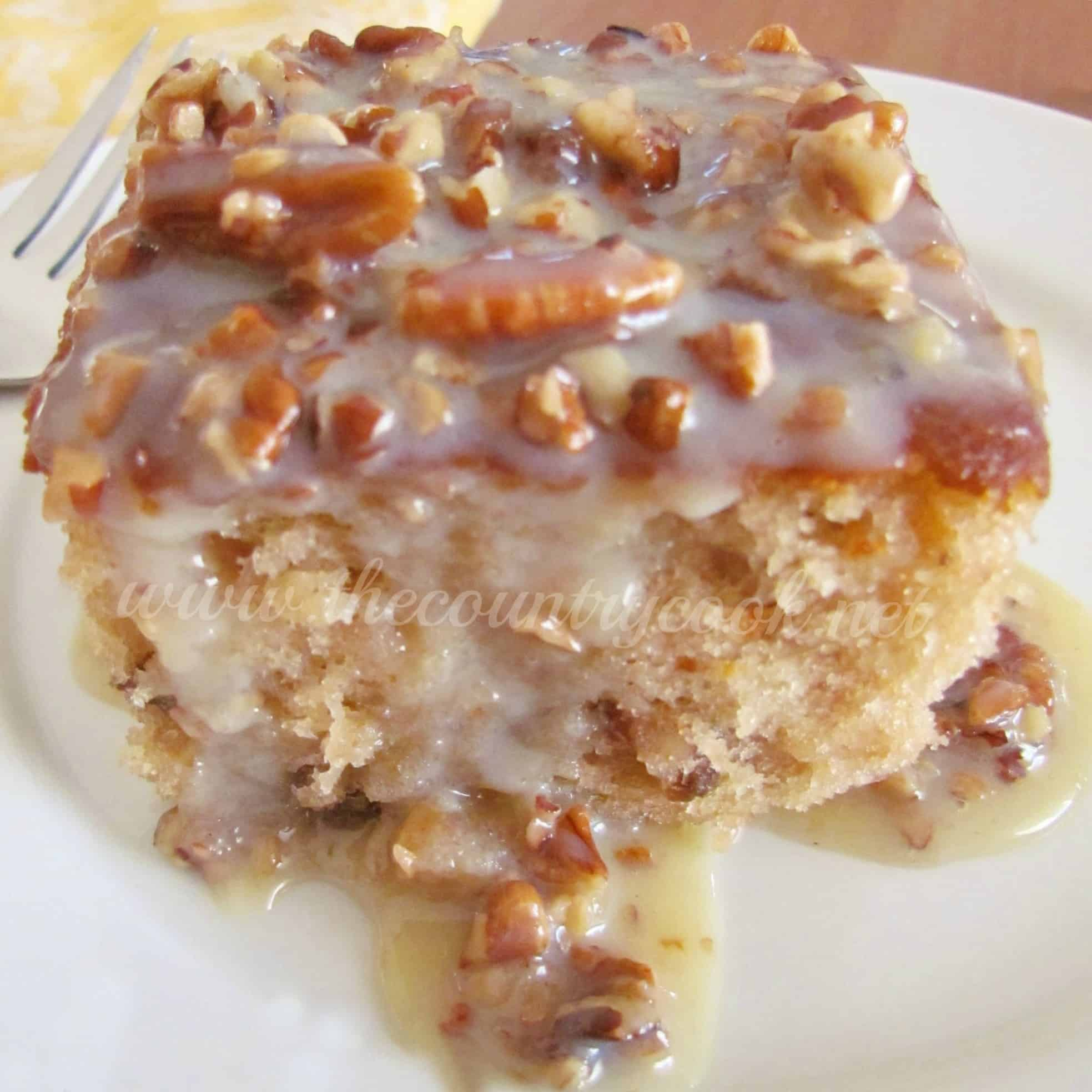 Cake Recipe With Coconut Pecan Frosting In The Batter