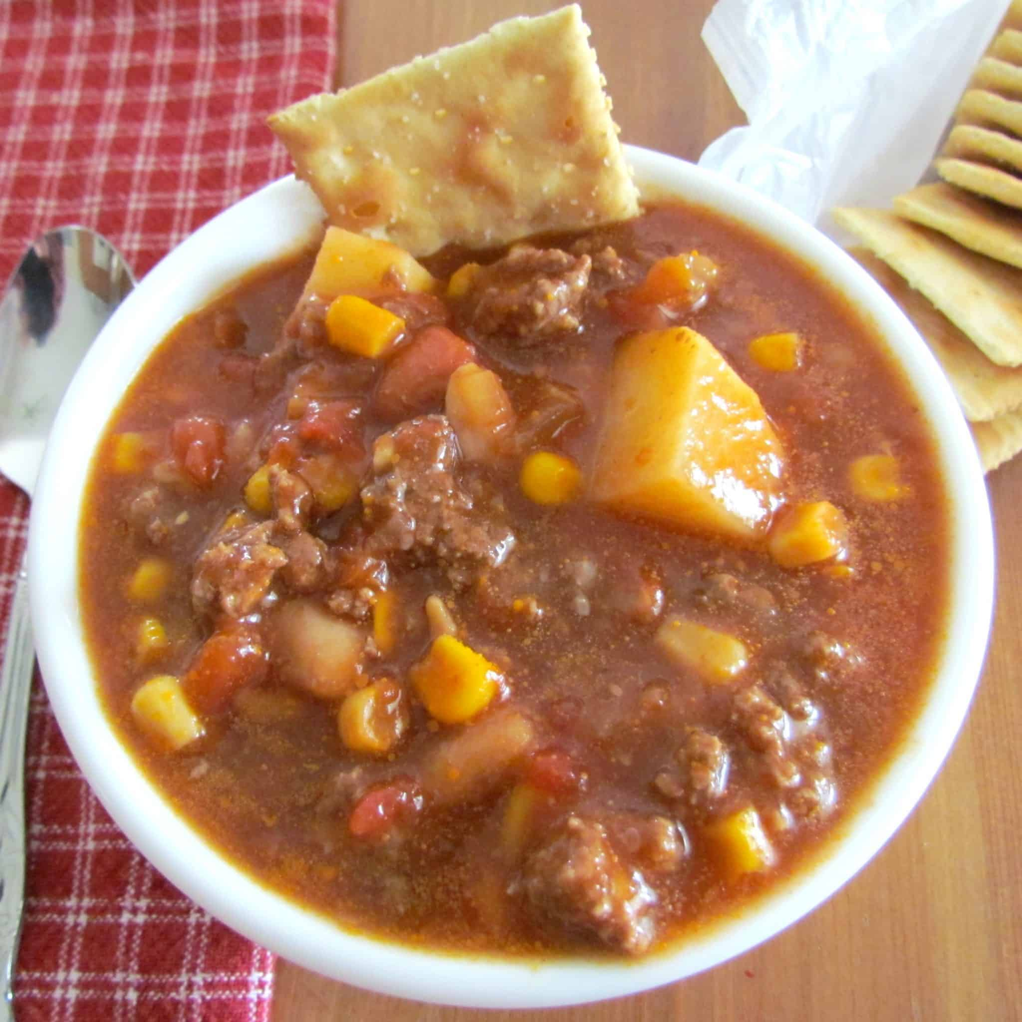 Old Virginia Brunswick Stew Recipe