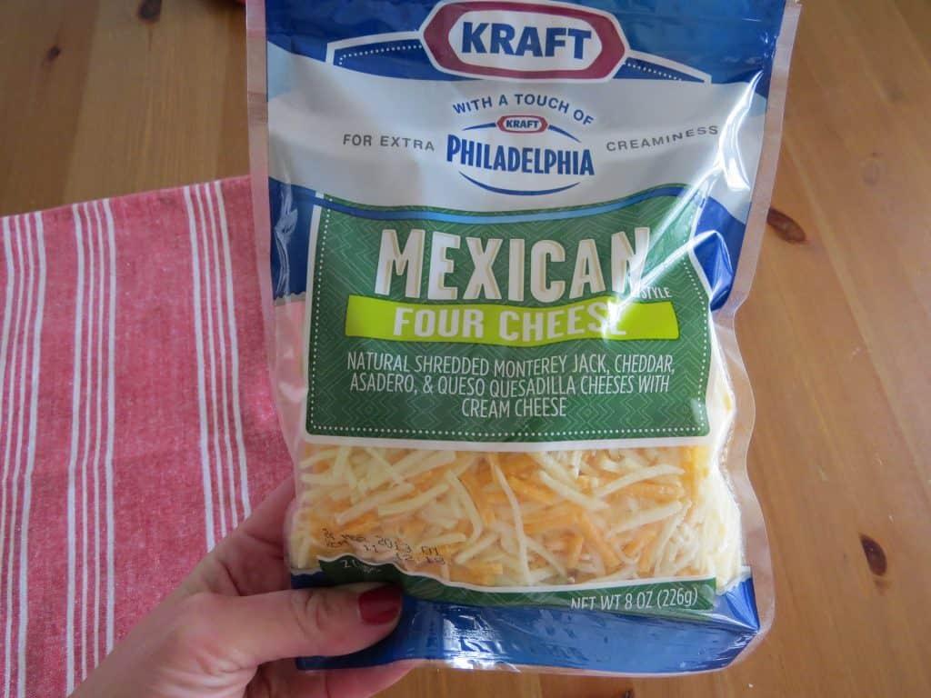 Kraft Mexican Four Cheese