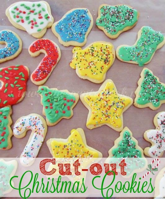 Christmas Cutout Cookies.Cut Out Sugar Cookies The Country Cook