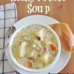 Crock Pot Leek & Potato Soup