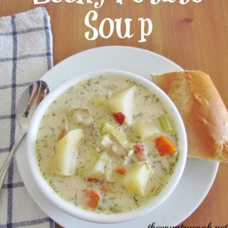 Crock Pot Leek & Potato Soup