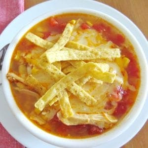 Chicken Tortilla Soup like Chick-fil-A