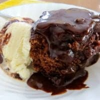 Crock Pot Hot Fudge Sundae Cake