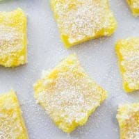 Easy 3-Ingredient Lemon Crumble Bars