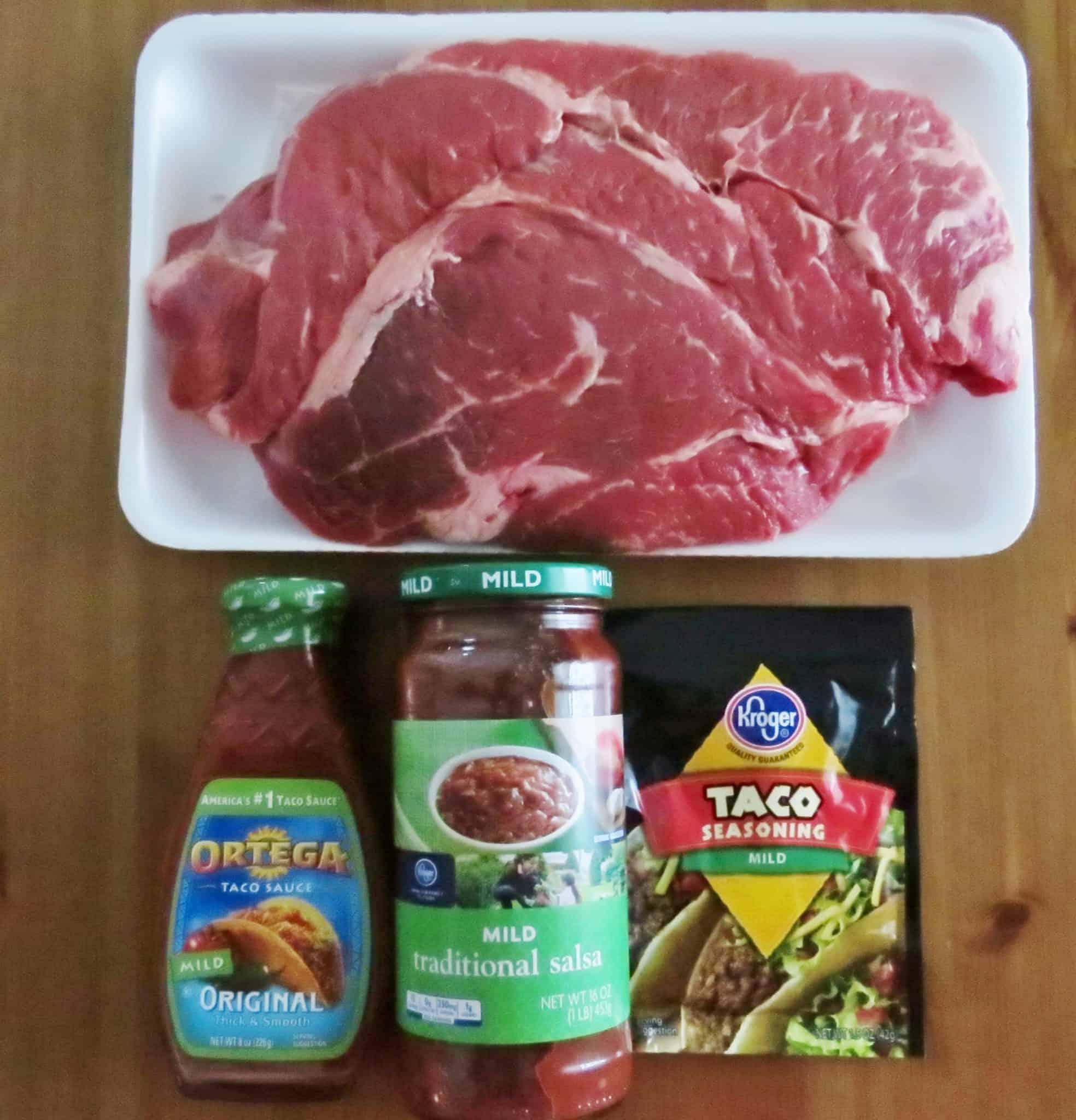 beef taco meet recipe
