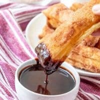 Easy Baked Churros recipe from The Country Cook
