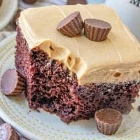 slice, Reese's Peanut Butter Cup Cake