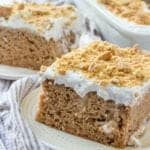 Easy Carrot Pudding Poke Cake recipe