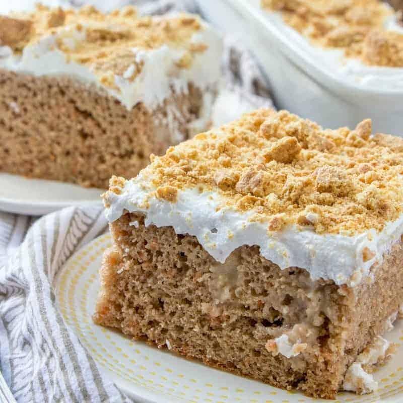 Easy Carrot Pudding Poke Cake recipe
