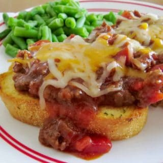 Cheesy BBQ Sloppy Joes recipe