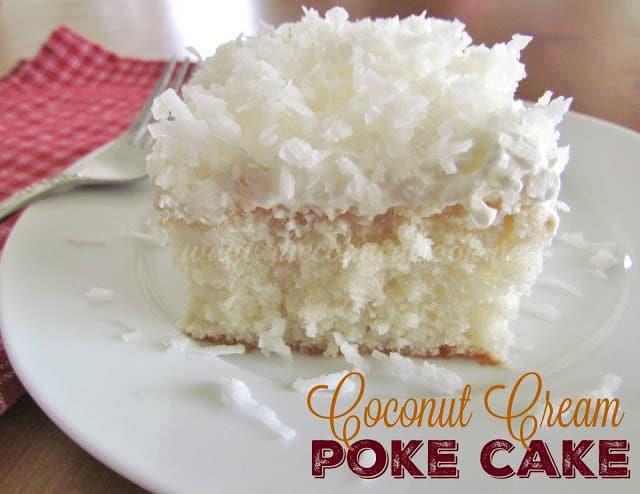 Coconut Cake Using Box Mix