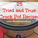 25 Favorite Crock Pot Recipes