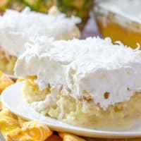 Pina Colada Poke Cake recipe