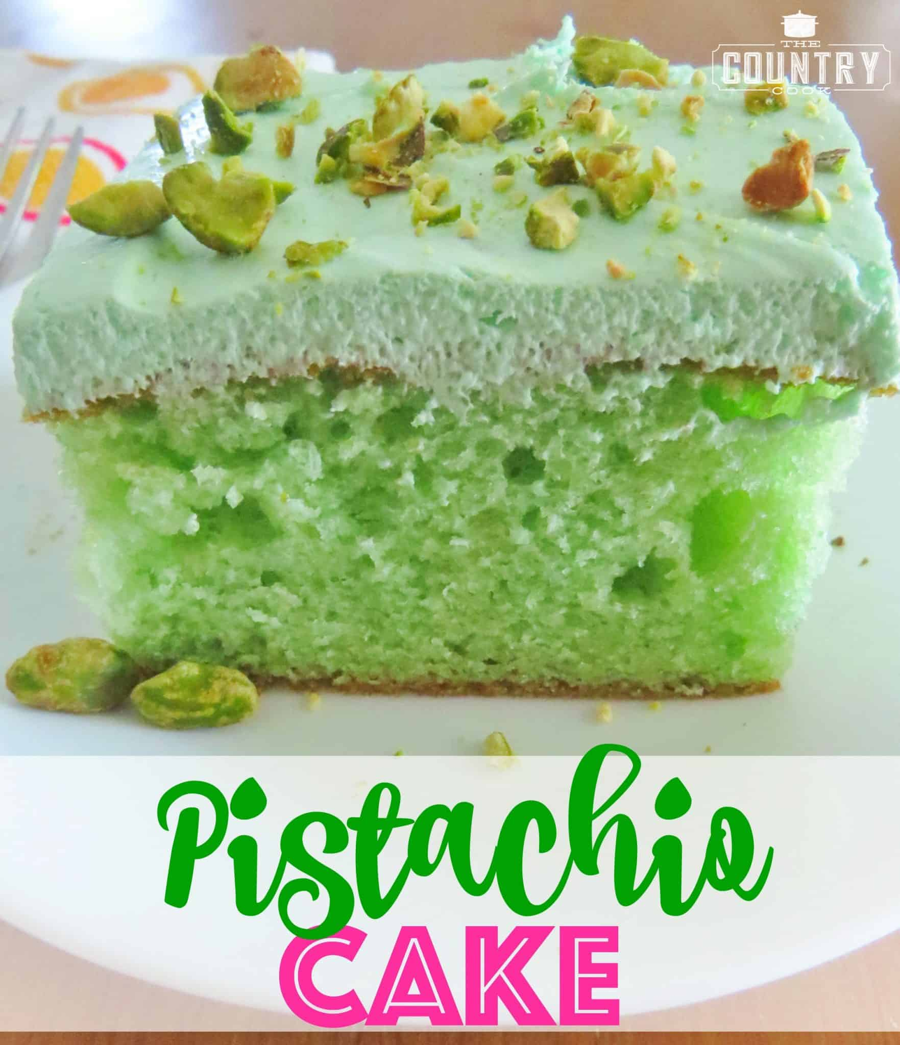 Pistachio Cake Recipes Jello