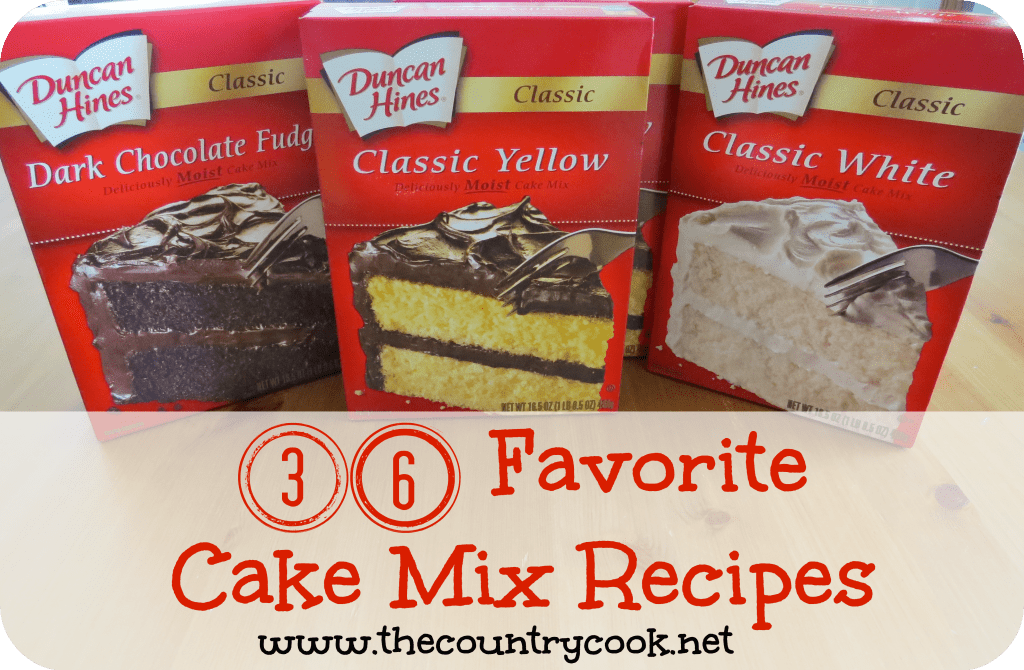 cake recipes with cake mix